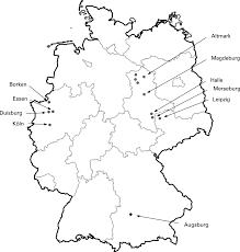 East And West Germany Map by Prevalence Of Overweight And Obesity In East And West German