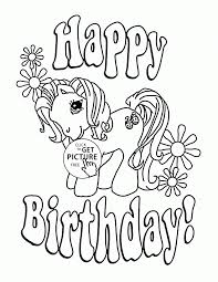 birthday coloring pages girls coloring pages