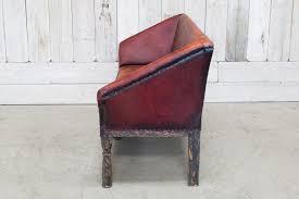Maroon Leather Sofa Custom Distressed Leather Sofa Burgundy Bd Antiques