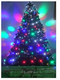 6ft fiber optic tree pre lit