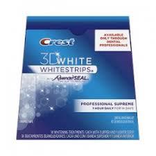 crest supreme whitening strips crest whitestrips whitestripskopen nl