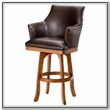 Ideas For Ladder Back Bar Stools Design Swivel Bar Stools With Back And Arms Show Home Design In Bar