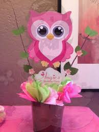 owl centerpieces owl centerpiece baby shower party decorations owl