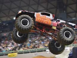 foster communications coliseum hosts monster truck show