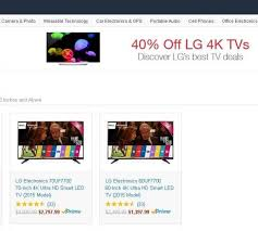 amazon led tv deals in black friday amazon launches black friday deals store sound u0026 vision