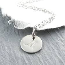 white gold necklace pendants images 14k white gold initial necklace personalized jewelry initial jpg