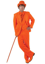 dumb and dumber costumes deluxe orange tuxedo lloyd christmas dumb and dumber costumes