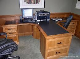 Partner Desk Home Office Custom Cherry Partner Desk Two Person Partners Desk Cherry In Two