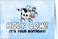 cow greeting cards birthday cards with farm animals from greeting card universe