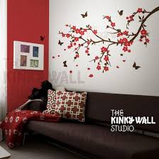 Cherry Blossom Decoration Ideas Living Space Wall Decals A Contemporary Touch Decorazilla