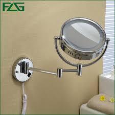 Wall Mounted Magnifying Mirror 10x Illuminated Wall Mounted Makeup Mirror Makeup Vidalondon