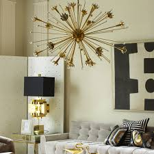 Chandelier For Living Room Giant Sputnik Nickel Chandelier Modern Chandeliers Jonathan Adler