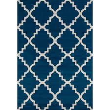 world rug gallery moroccan trellis pattern high quality soft blue
