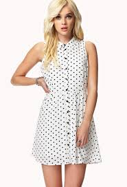forever 21 polka dot shirt dress you u0027ve been added to the waitlist