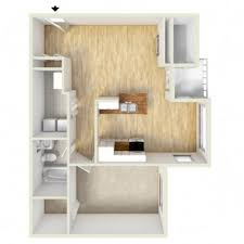 One Bedroom Floor Plans 1 Bed 1 Bath Apartment In Laurel Md Spring House Apartments
