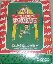 amazon com vintage mcdonalds christmas ornament u0027over one million