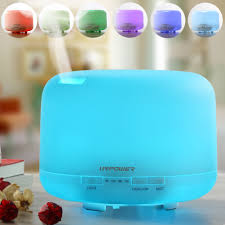 Essential Oil Diffuser by Urpower 500ml Aromatherapy Essential Oil Diffuser