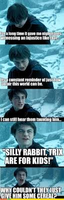 Silly Rabbit Meme - harry potter memes harry potter memes collection 1 meme