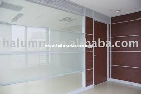 silver brushed steel frame portable room wall partition with f