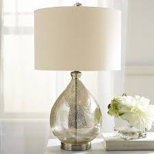 Small Accent Table Lamps Nightstand Gold Table Lamp White Crystal Lamps Modern Console