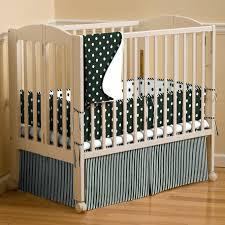 Portable Crib Bedding Decoration Portable Crib Bedding Set Solid Black Larger Pad Mini