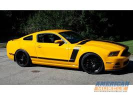 Yellow Mustang With Black Stripes Black Rims On White 13 Mustang Ford Mustang Forum