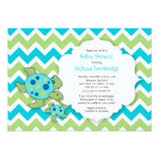 turtle baby shower turtle baby shower invitations announcements zazzle