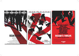 rich hegan oceans 11 12 poster design