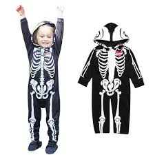 Skeleton Halloween Costume Kids Online Get Cheap Skeleton Baby Clothes Aliexpress Com Alibaba Group