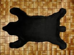 real bear skin rug with head home design ideas