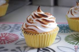 lemon meringue cupcake bear food