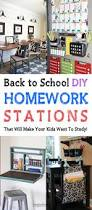 Kids Built In Desk by Back To School Diy Homework Stations That Will Make Your Kids Want