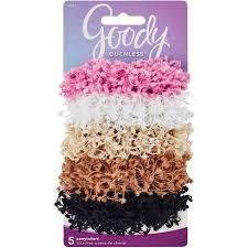 hair scrunchies goody ouchless hair scrunchies 5 count walmart