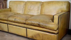 Large Leather Sofa Georgian Style Leather Sofa With Large Brass Nailhead