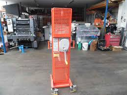 others used other machines ezi lift eli 125 150 manual lifter