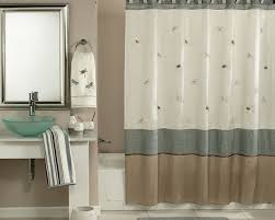 Bathroom Accessory Sets With Shower Curtain by Curtains Zen And The Art Of Choosing Luxury Shower Curtains