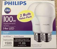 philips led a19 100w daylight light bulb review tom u0027s tek stop