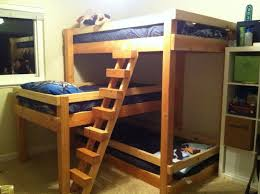 Bunk Bed For 3 Simple 3 Bunk Bed Choosing 3 Bunk Bed Modern Bunk Beds Design