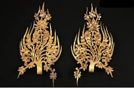 gold crown ornaments from baekje korea net the official