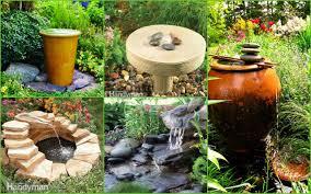 fulgurant diy fountain water gardens ideas then diy fountain in