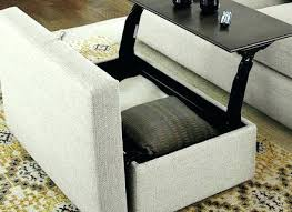 ottoman with storage and tray storage ottoman with tray ottoman with tray brilliant storage