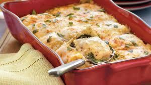 spinach and ravioli lasagna recipe bettycrocker com