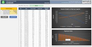 Excel Mortgage Calculator Template Mortgage Calculator Free Excel Template To Calculate Loan Payments