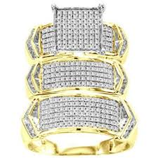 wedding trio sets buy discount 3 bridal bridal ring sets online with financing