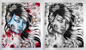 geisha designs tattoos book 65 000 tattoos designs
