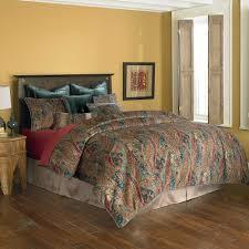 Rust Comforter Set Bedding Classics Desert Sunset Comforter Set In Rust Gold