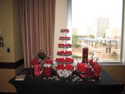 Black And White Candy Buffet Ideas by Red And Black Candy Buffet Cupcake Table Candy Buffets