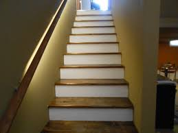 how do you finish basement stairs up stairs pinterest