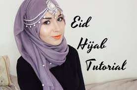 tutorial hijab nabiilabee hijab tutorial eid party nabiilabee youtube