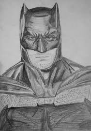 batman ben affleck drawing by alexlio42 on deviantart